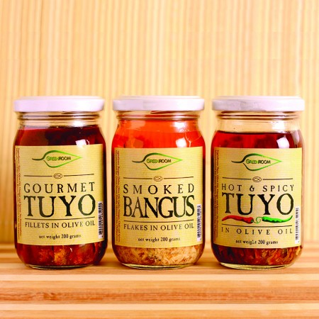 Smoked Bangus, Gourmet Tuyo, and Hot and Spicy